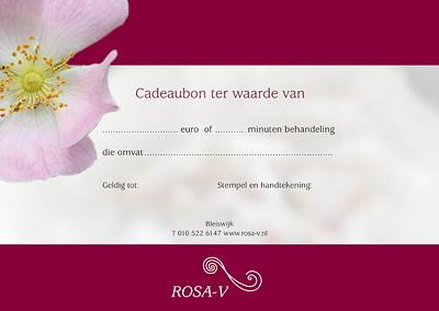 Cadeaubon Rosa V