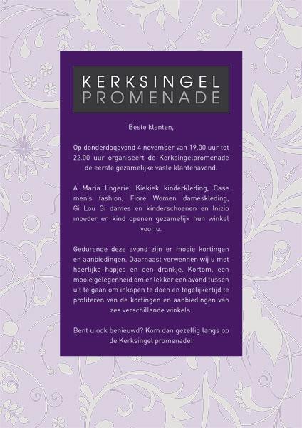 Flyer Kerksingel