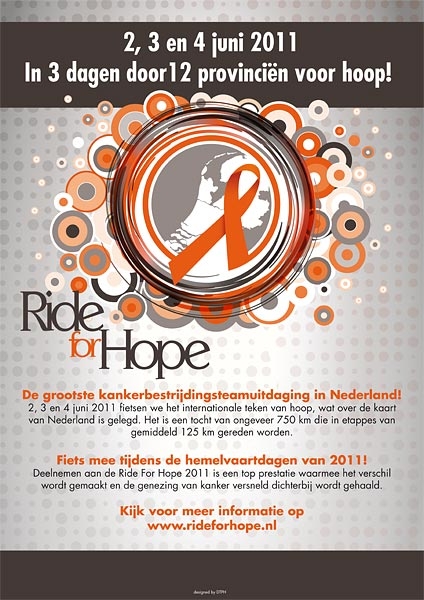 poster ride for hope