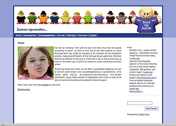 nieuwe website door dtph