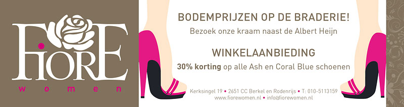 advertentie Fiore