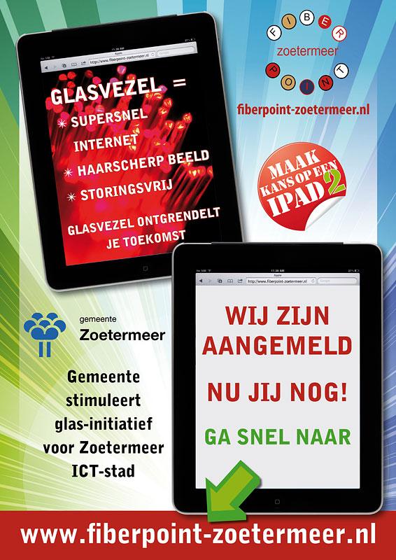 Raamposter Fiberpoint-zoetermeer