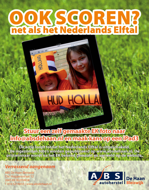 advertentie EK