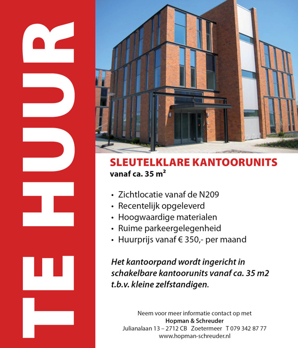 advertentie Klappolder