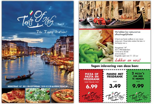 Flyer Taste of Italy