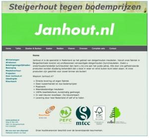 janhout - website