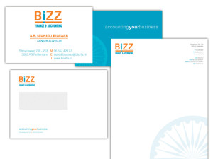 Huisstijl Bizz Finance & Accounting