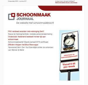 nieuwsbrief en online banner