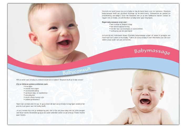 Folder babymassage