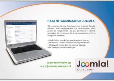 advertentie joomla cursus