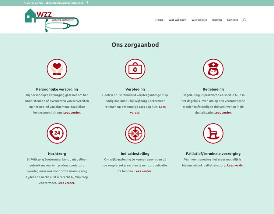 wijkzorg zoetermeer website