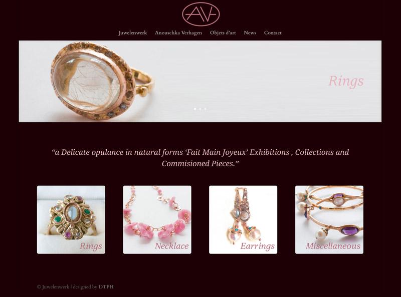 Vernieuwde website Juwelenwerk