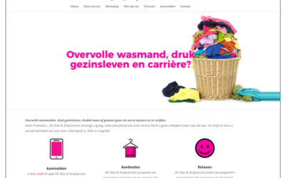 Website DC Was en strijkservice