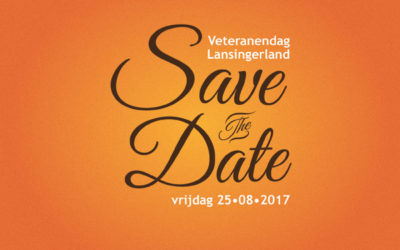 Save the Date kaart veteranendag