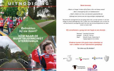Uitnodiging Sterrenwijk