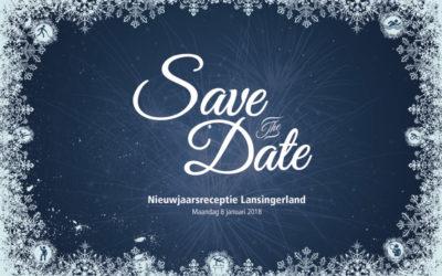 Save the Date nieuwjaarsbijeenkomst 2018
