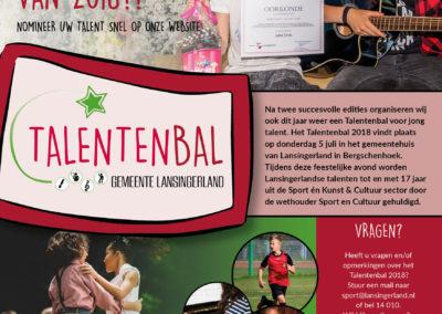 poster talentenbal