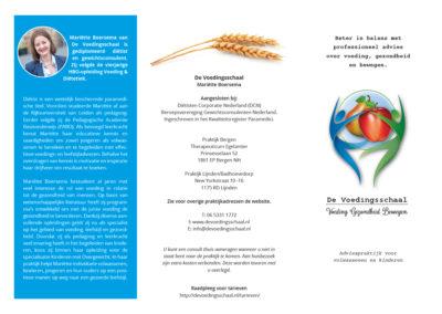 drieslagfolder-voedingsschaal