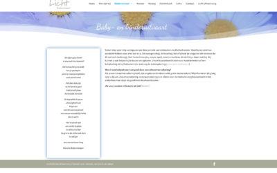 Website Licht Kinderuitvaart