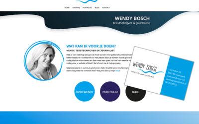 Nieuwe huisstijl Wendy Bosch