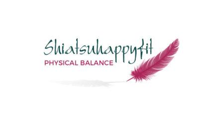 Happy Fit Shiatsu – website en logo