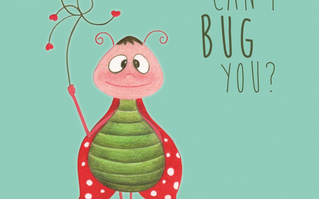 Can I bug you- A6 ansichtkaart