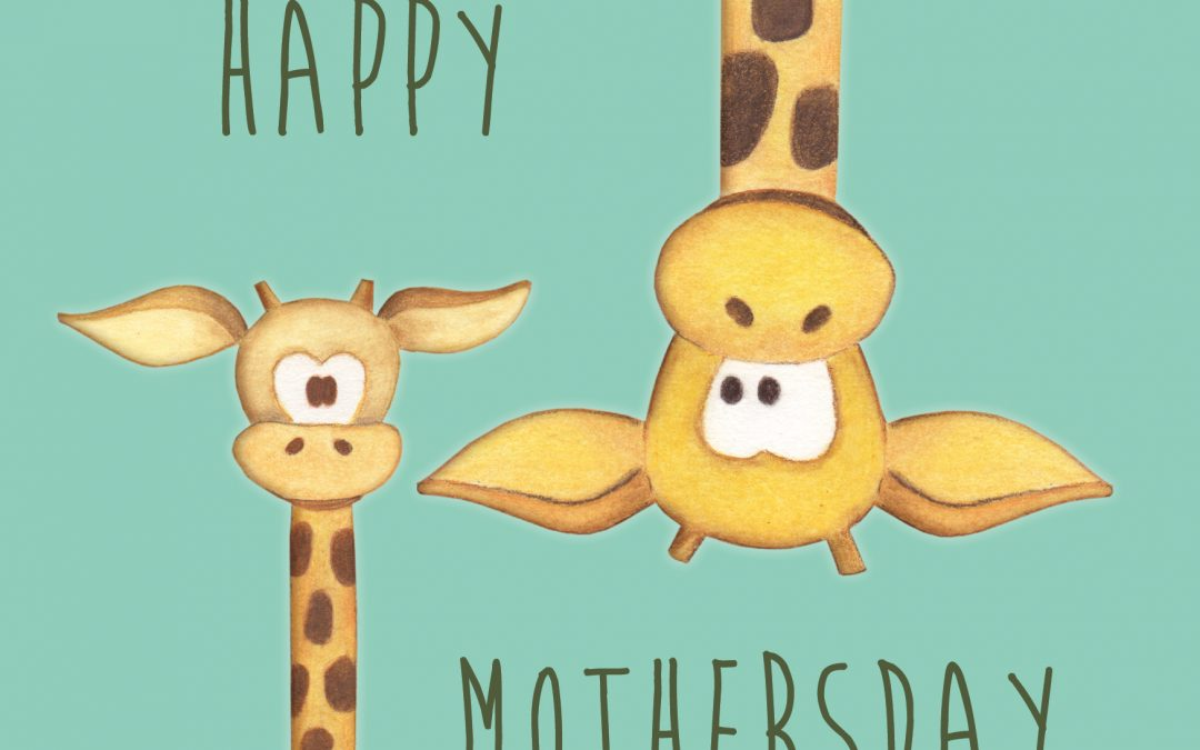 Happy Mothersday – ansichtkaart A6