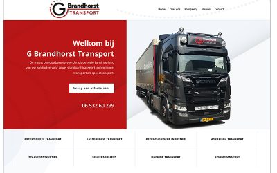 Website G Brandhorst Transport