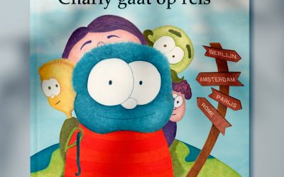 Kinderboek Charly gaat op reis