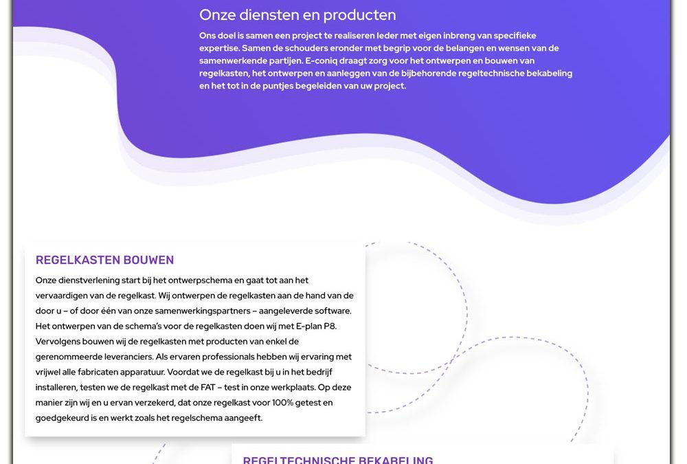 Website e-coniq