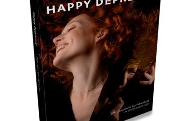 Happy Depressie – vormgeving autobiografie
