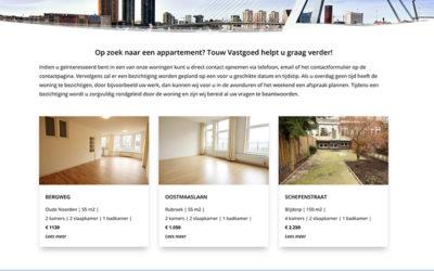 Vernieuwd ontwerp Touw Vastgoed Rotterdam