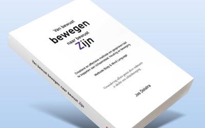Nieuw boek 'Van bewust bewegen naar bewust zijn'
